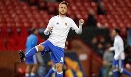 Van Wolfswinkel vai defrontar Benfica com parte do coração ainda no Sporting
