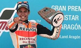 MotoGP: Marc Márquez vence GP de Aragão e isola-se na liderança do Mundial