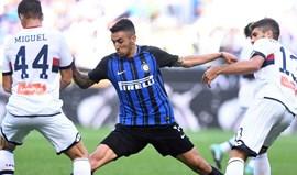 Inter bate Génova com João Mário a ter papel crucial