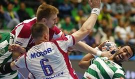 Sporting perde na Liga dos Campeões com HC Motor Zaporozhye