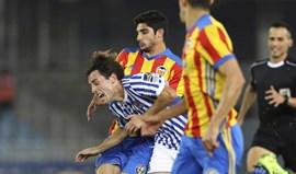 Gonçalo Guedes 'parte a loiça' na vitória do Valencia