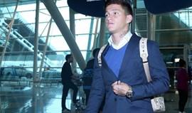 Otávio seguiu viagem para o Mónaco