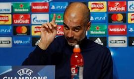 Guardiola: «Espero convencer os jogadores a levar a sério o Shakhtar»