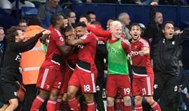 Watford de Marco Silva consegue empate dramático frente ao WBA
