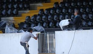 Foi assim que o V. Guimarães fechou a preparação para o jogo com o Salzburgo