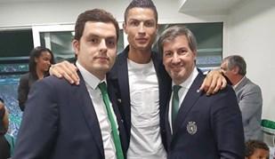 As imagens de Cristiano Ronaldo em Alvalade