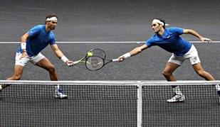 Nadal e Federer: as imagens de uma dupla para a história