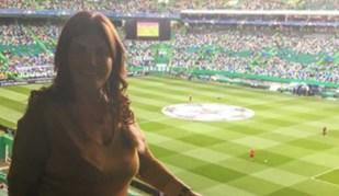 Família de Cristiano Ronaldo assistiu ao Sporting-Barcelona