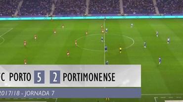 O resumo do FC Porto-Portimonense (5-2)