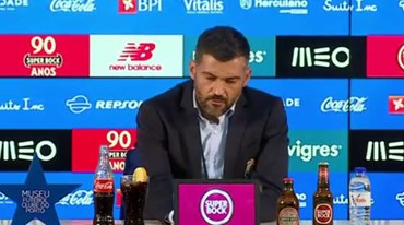 O esclarecimento de Sérgio Conceição: «Tiraram uma frase do contexto»