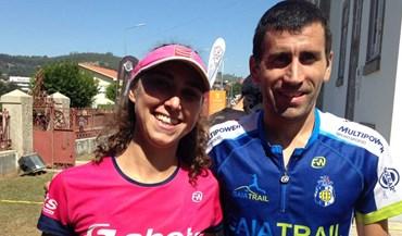 Raquel Campos e Fernando Lemos vencem na Serra de Alfena