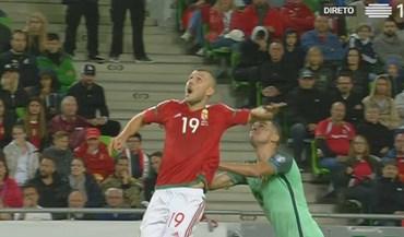 Priskin expulso por causa desta agressão a Pepe