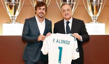 Fernando Alonso diz que nasceu para ser adepto do Real Madrid
