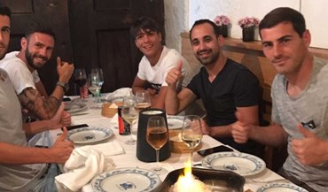 Armada espanhola dos dragões à mesa... com um 'intruso' mexicano