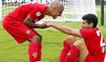 Goleada da Fiorentina contou com golo totalmente português
