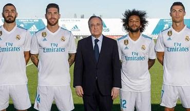 Real Madrid: Ronaldo continua no grupo de capitães onde Benzema ocupa lugar de Pepe