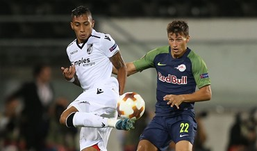 Crónica do V. Guimarães-RB Salzburgo, 1-1: Vitória de rastos só deu este ponto