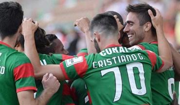 Madeirenses vencem com bis de Rodrigo Pinho