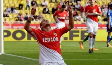 Rony Lopes e Falcão levam Monaco à vitória