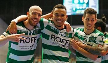 Sporting vence no Fundão (1-3)