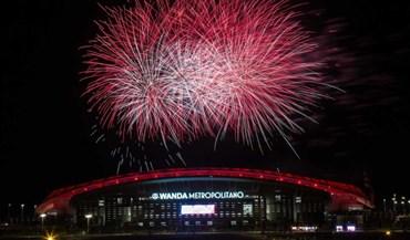 Atlético Madrid inaugurou nova casa com pompa e circunstância