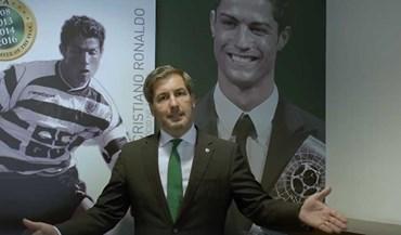 Foi assim que Bruno de Carvalho divulgou o que tem em comum com Cristiano Ronaldo