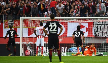 Eintracht Frankfurt afunda Colónia