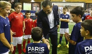 Embaixador Pauleta inaugurou academia do PSG em Lisboa