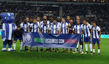 A mensagem de solidariedade do plantel do FC Porto