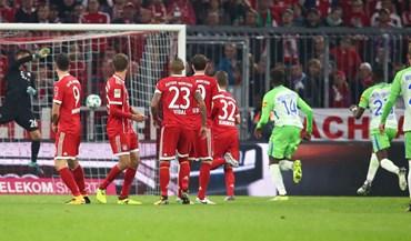 Bayern Munique deixa-se empatar em casa com o Wolfsburgo