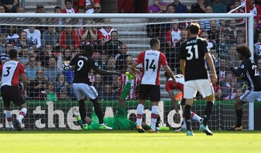 Southampton-Manchester United, 0-1 (1.ª parte)
