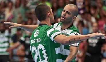 Sporting vence Futsal Azeméis e continua invicto