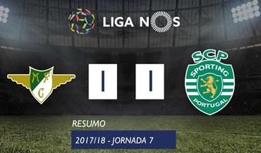 O resumo do Moreirense-Sporting (1-1)