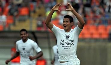 Lusitano de Vildemoinhos-Ac. Viseu, 0-1: Sandro Lima decidiu jogo histórico