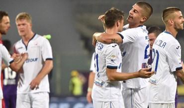 Atalanta resgata ponto fora de horas na visita à Fiorentina