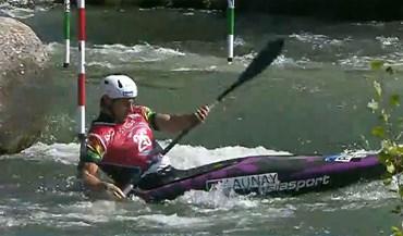 Antoine Launay apura-se para as meias-finais dos Mundiais de slalom