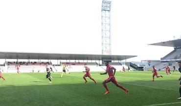Gil Vicente-V. Guimarães B, 3-0: Triunfo com dois golos de penálti