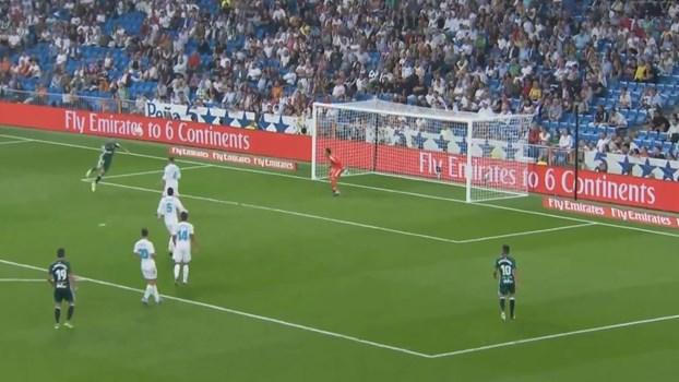 O golo de Sanabria que gelou o Santiago Bernabéu