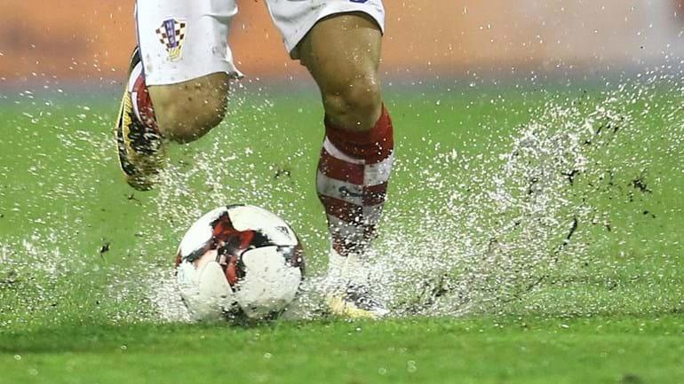 Croácia-Kosovo adiado devido à chuva torrencial em Zagreb