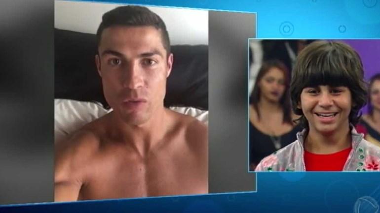 O vídeo de Cristiano Ronaldo que está a correr o Mundo