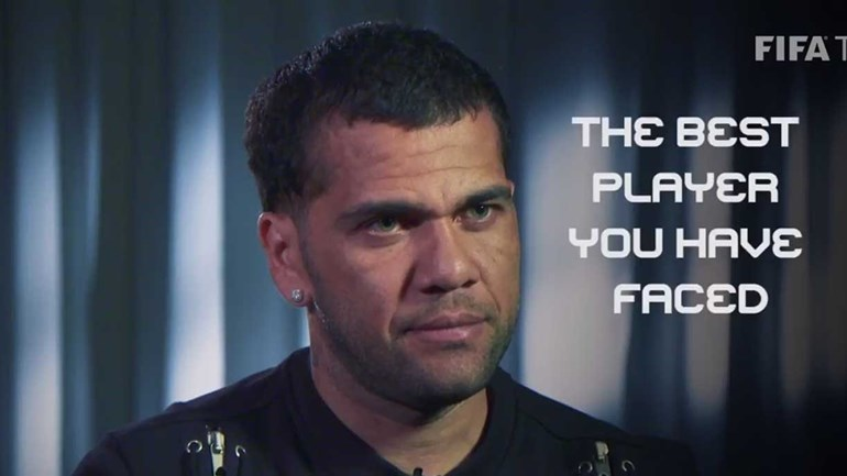 Consegue adivinhar qual o melhor jogador que Dani Alves enfrentou?