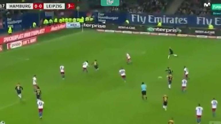 À atenção do FC Porto: Keita marca golaço diante do Hamburgo