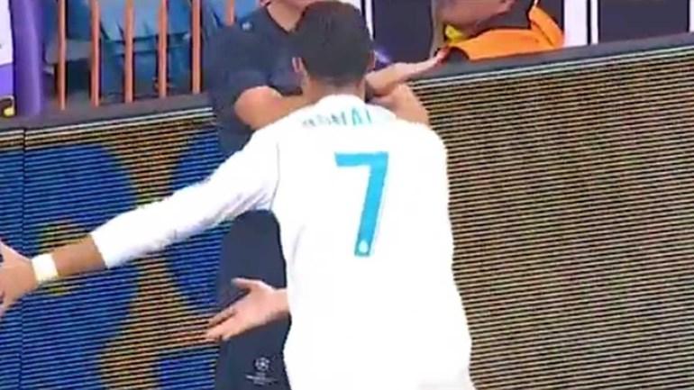 Ronaldo ficou 'louco' por causa da... tecnologia de linha de golo