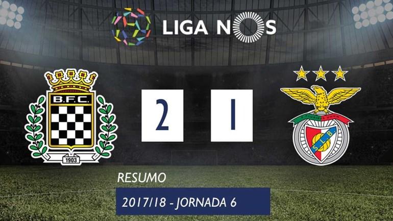 O resumo do Boavista-Benfica (2-1)