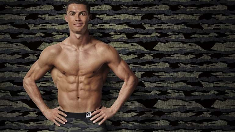 Cristiano Ronaldo apresenta nova coleção