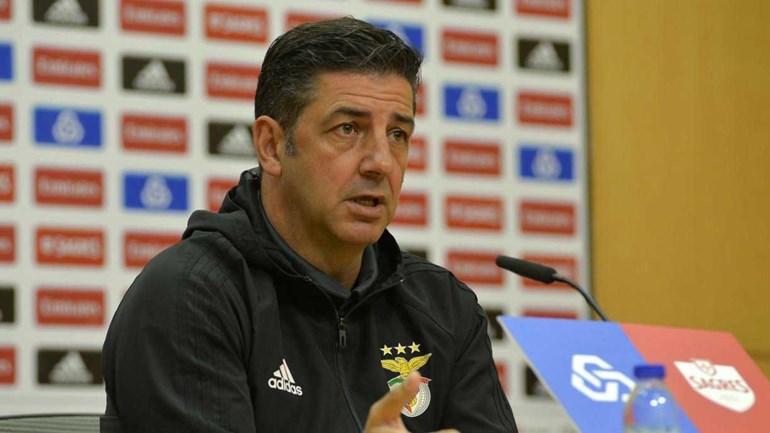Rui Vitória admite mudanças no onze do Benfica contra o SC Braga