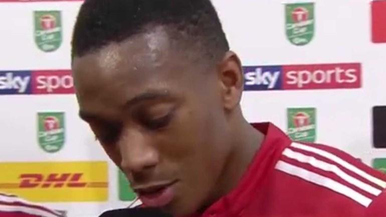 Dois anos depois, eis a primeira entrevista de Martial... em inglês
