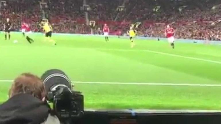 Old Trafford quase foi abaixo com este golo de Rashford
