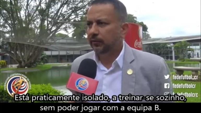 «Bryan Ruiz está praticamente isolado no Sporting»