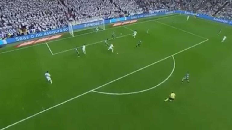 Foi um velho conhecido do Real Madrid que negou golo do ano a Bale